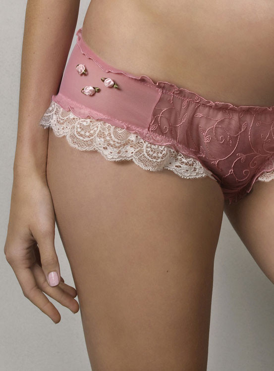 Hotmilk she blushes in Delight French Knickers