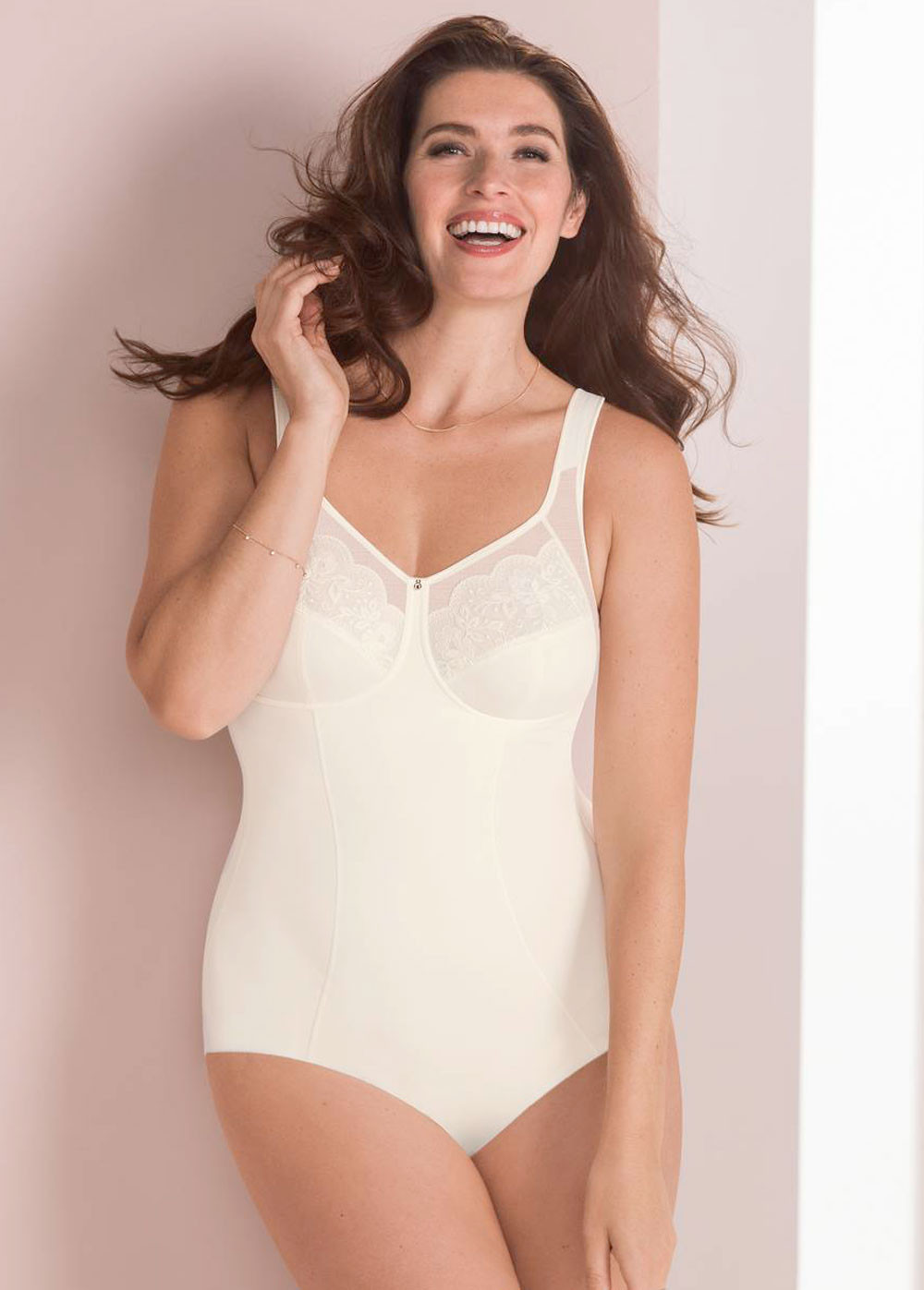Anita Wirefree Corselette Amica 3514 - crystal