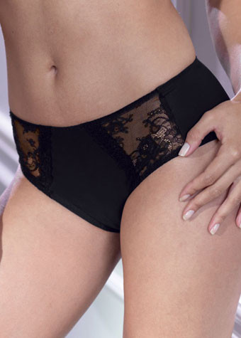 Anita Rosa Faia Lace Rose High Waist Brief 1417