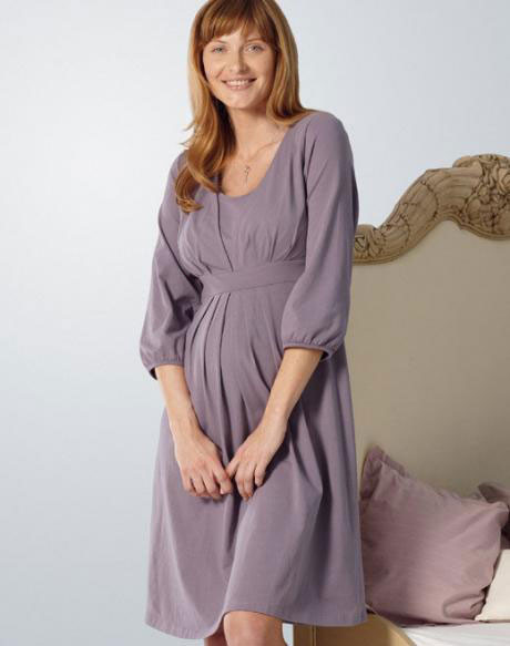 Anita Nursing Nightie 1216 Lavender, small