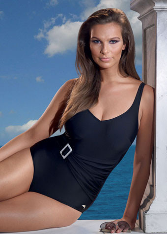 Anita Swimwear underwired Black Swimsuit 7270