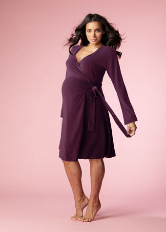 Hotmilk Maternity/Nursing Dress My Everything Purple