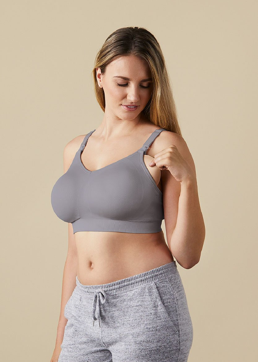 Bravado Body Silk Seamless Nursing Bra 1401 - Silver Grey