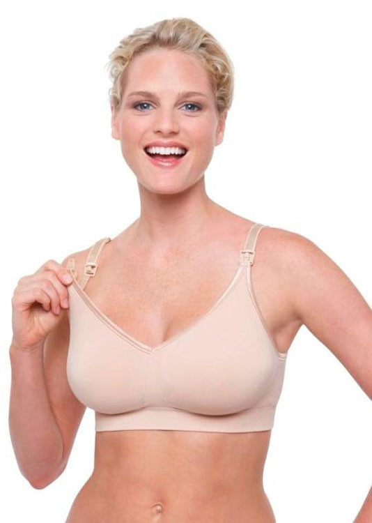 Bravado Body Silk Seamless Nursing Bra 1401 - Latte
