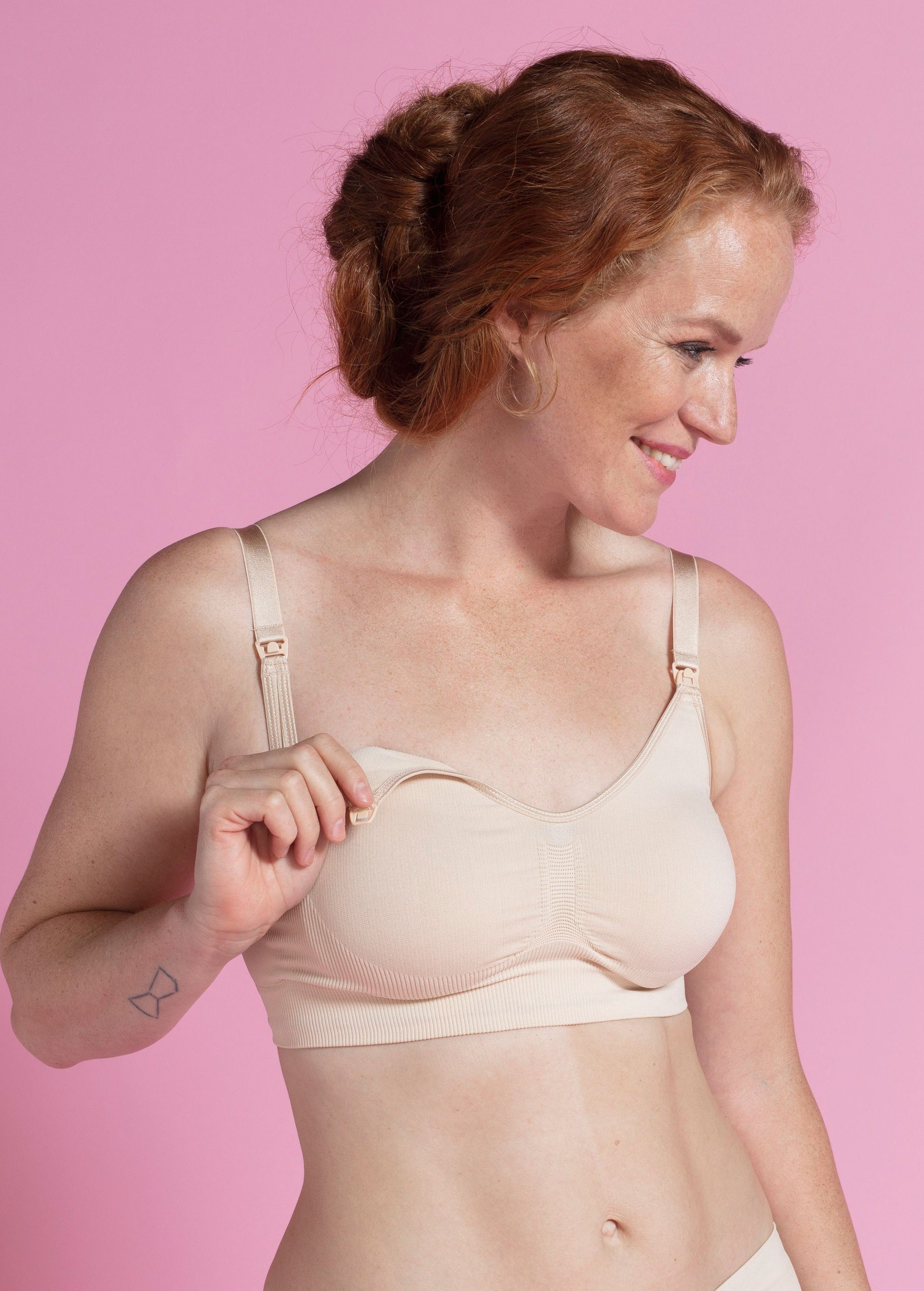 Carriwell Seamless Nursing Bra 3005