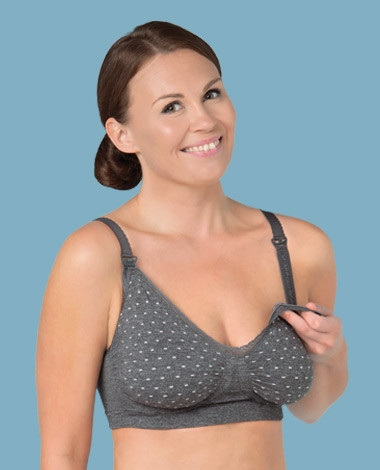 Carriwell Seamless GelWire™ Nursing Bra - Special Edition polkadot
