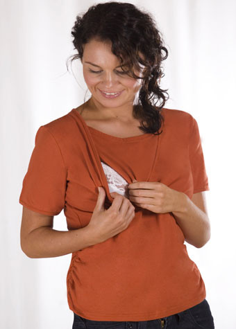 Carriwell Nursing Top orange