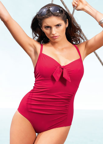 Panache Swimwear Veronica Red Swimsuit SW0640