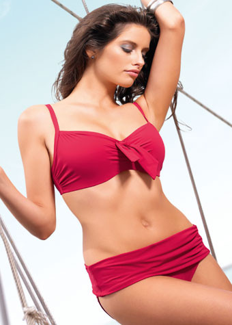 Panache Swimwear Veronica Red Bikini Top
