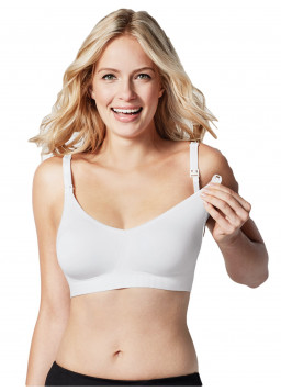 Bravado Body Silk Seamless Nursing Bra 1401 - White