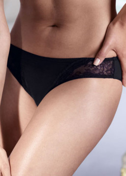 Anita Rosa Faia Lace Rose Brief Black 1416