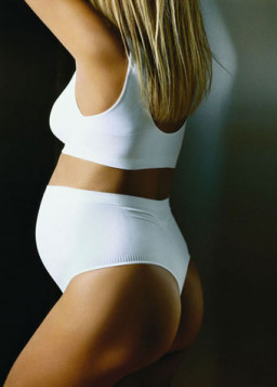 Anita Maternity Seamless Thong White 1500