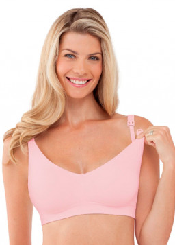 Bravado Body Silk Seamless Nursing Bra 1401 - Pink Ice