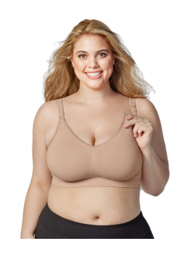 Bravado Body Silk Seamless Nursing Bra 1401 - Butterscotch
