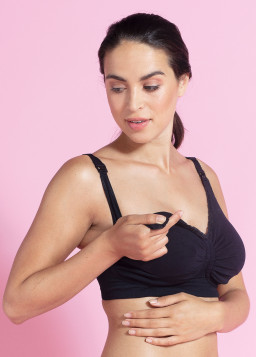 Carriwell Padded GelWire® Support Nursing Bra
