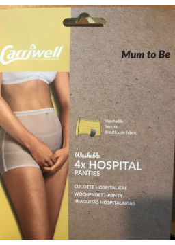 Carriwell Hospital Panties - pack of 4