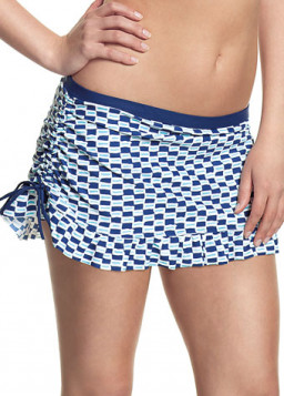 Cleo Lucille Skirt Pant Nautical Print CW0066