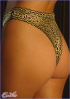 High Waist Brazilian Thong