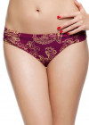Panache Veronica Ruched Side Brief SW0649 Paisley