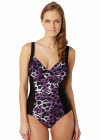 Panache Tallulah underwired Swimsuit SW0740 - purple animal
